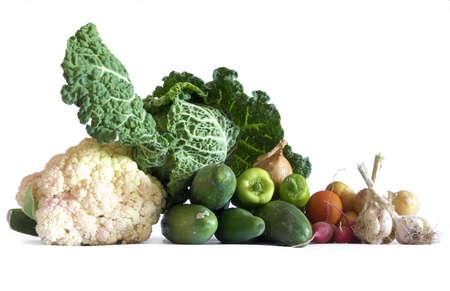 vegetables still life food theme Reklamní fotografie