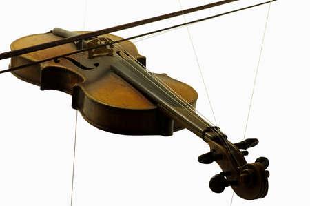 violin string instruments Reklamní fotografie