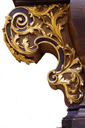 Ornament baroque carving