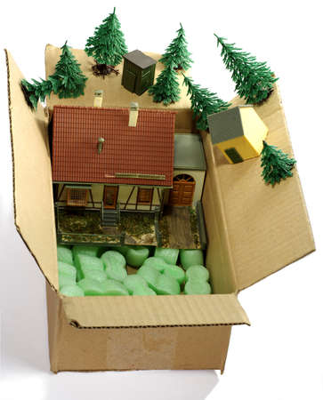 house in the box