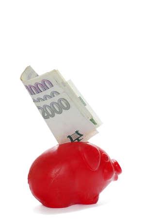 Piggy bank finance theme Reklamní fotografie