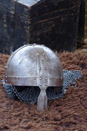 Medieval replica helmet