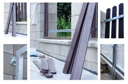 new fence building Reklamní fotografie