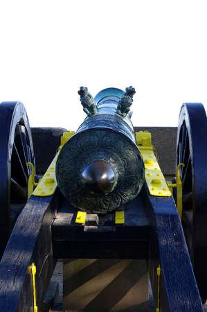 Cannon gun historical military Reklamní fotografie