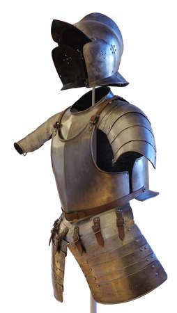 armor history objects isolated Reklamní fotografie