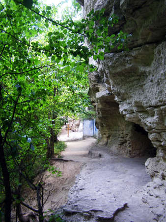 The village Saharna is well-known for cave monastery of XIII century and operating mans monastery Presvjatoj of the Trinity.