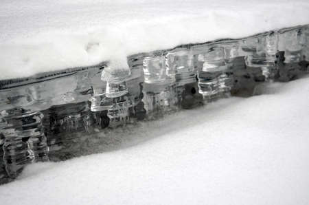 The ice - water in the solid state  photo