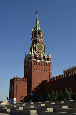 Spasskaya Tower Stock Photo - 16098217