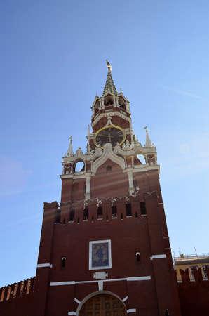 spasskaya: Spasskaya Tower Stock Photo
