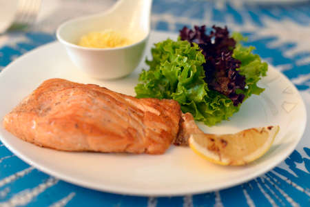 Tasty restaurant food Stock Photo
