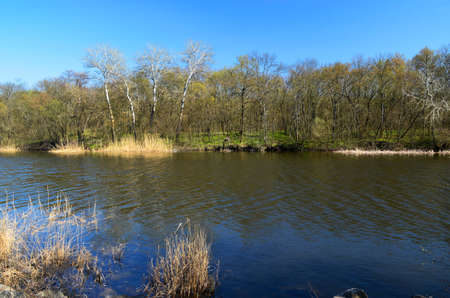 It is located on the left bank of the Dnieper River, 27 km from Dnepropetrovsk