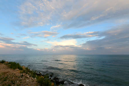 Golden Sands, Zlatni Pyasitsi - the resort of the Black Sea coast of Bulgaria. Stock Photo
