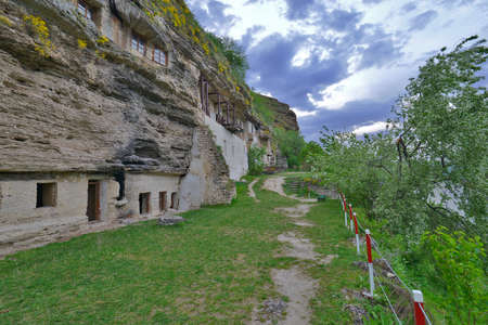 Assumption Monastery in Tsypovo is one of the largest rock monasteries in Southeastern Europe.