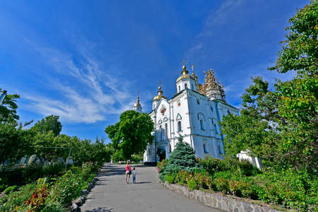 The Cathedral of the Exaltation of the Cross is the only seven-domed Baroque church in Ukraine, which has survived to this day.