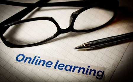 Online learning with glasses and a pen on graph paper