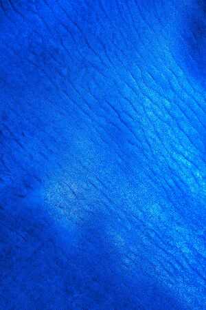 Blue close up textured background photo