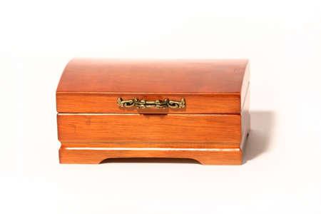 Brown casket photo