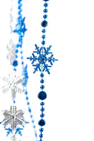Christmas ornaments isolated on white background Stock Photo - 8184738