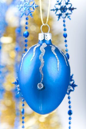 Christmas ornaments isolated on white background Stock Photo - 8287986