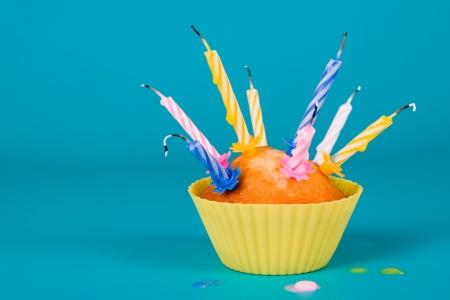 blow out: Cupcake festiva con un colpo le candeline