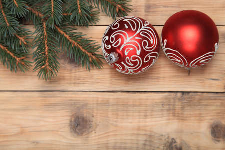 Christmas decorations. Merry Christmas and Happy New Year Stock Photo - 15990657