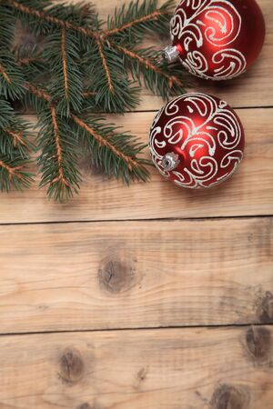 Christmas decorations. Merry Christmas and Happy New Year  Stock Photo - 15990565