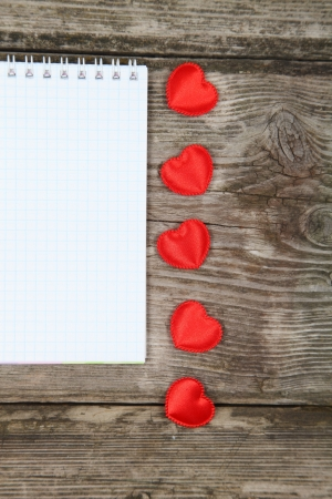 Valentines Day background with hearts. Stock Photo - 16920605