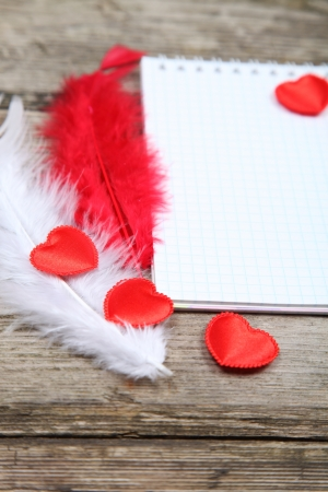 Valentines Day background with hearts.  Stock Photo - 16920594