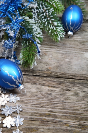 Christmas still life on a wooden background Stock Photo - 16920634