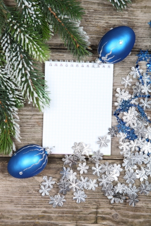 Christmas still life on a wooden background Stock Photo - 16920667