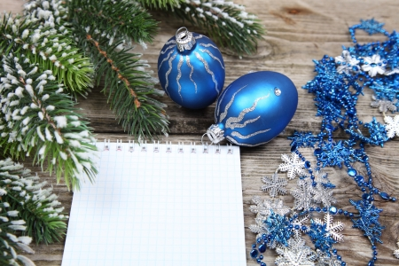 Christmas still life on a wooden background Stock Photo - 16920612