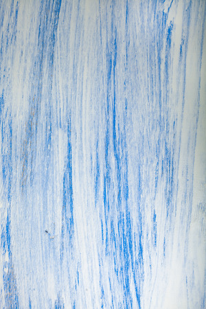 Wooden texture. Wooden background painted blue paint