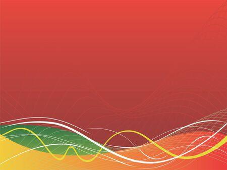 linee vettoriali: sfondo rosso astratta, linee vettoriali, sfondo colorato Vettoriali