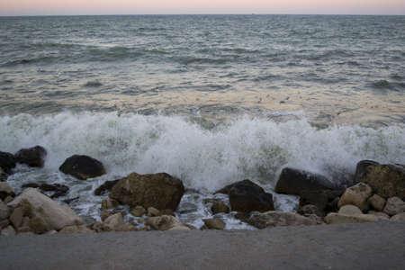 black sea coast Stock Photo