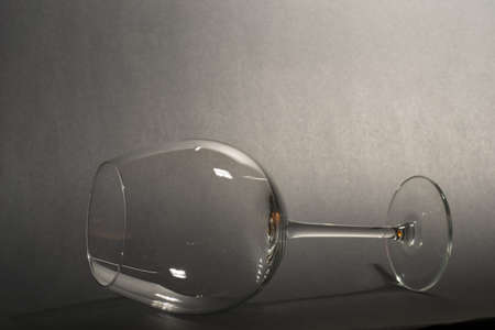 still life- empty glass Stock Photo