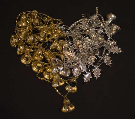 christmas decoration heart shaped