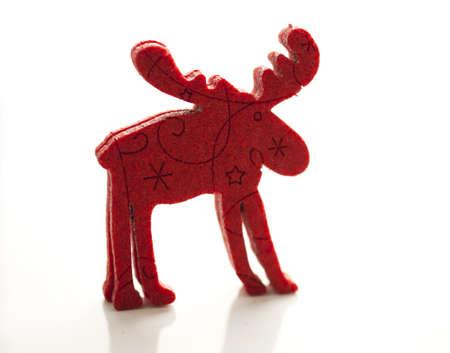 christmas decoration red deer
