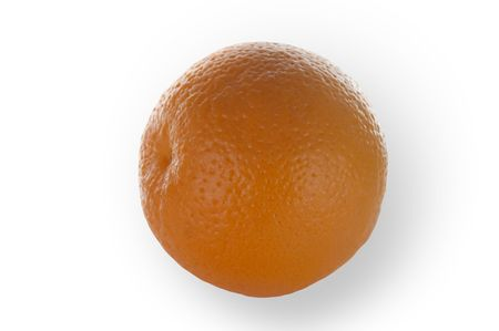 Orange isolated on white and clippingpath included Stock Photo - 444957