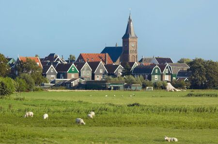 marken an old village in the netherlands Stock Photo - 488796
