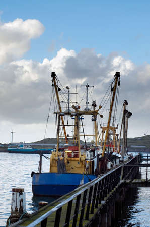 fishing ships in the harbor Stock Photo - 603816