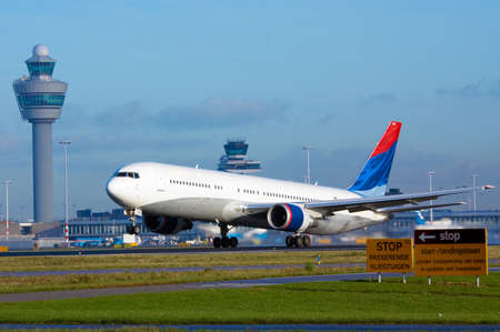 aircraft on takeoff Stock fotó