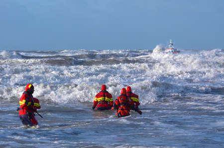 Coast Guard im Sturm