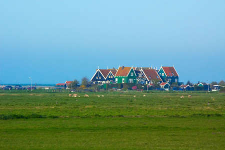 Marken, a little village in the netherlands on a day in summer Stock Photo - 729886