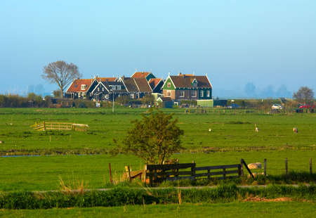 Marken, a little village in the netherlands on a day in summer Stock Photo - 729887