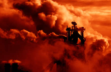 industrial smoke photo