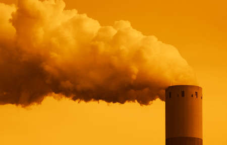 Industrie-Rauch  Standard-Bild