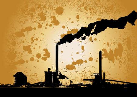 distill: vector grunge urban industry design