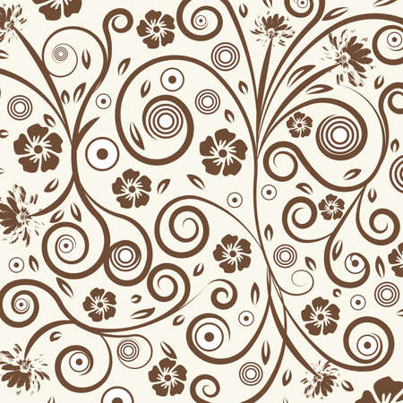 abstract vector flower illustration  Stock Photo