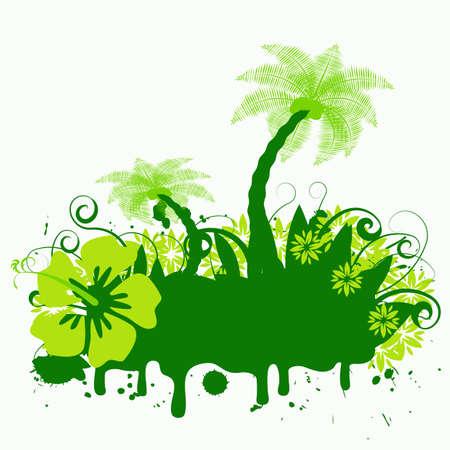 abstract vector palmtree design Stock Photo - 1126709