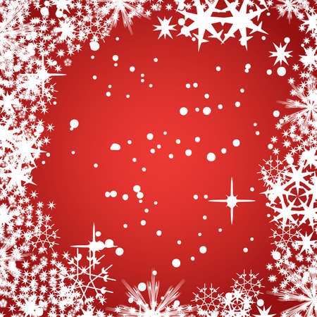 Decorative abstract winter vector background  photo